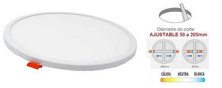 downlight-panel-led-extraplano-corte-ajustable