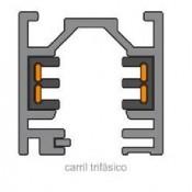 Foco LED Carril Trifásico