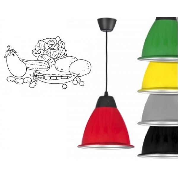 Campana LED Decorativa 30W, Especial Verdurería