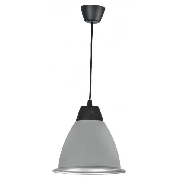 Campana LED Decorativa 30W Gris
