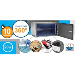 Armario Desinfección COVID19 LED Ultavioleta C para todo tipo de objetos