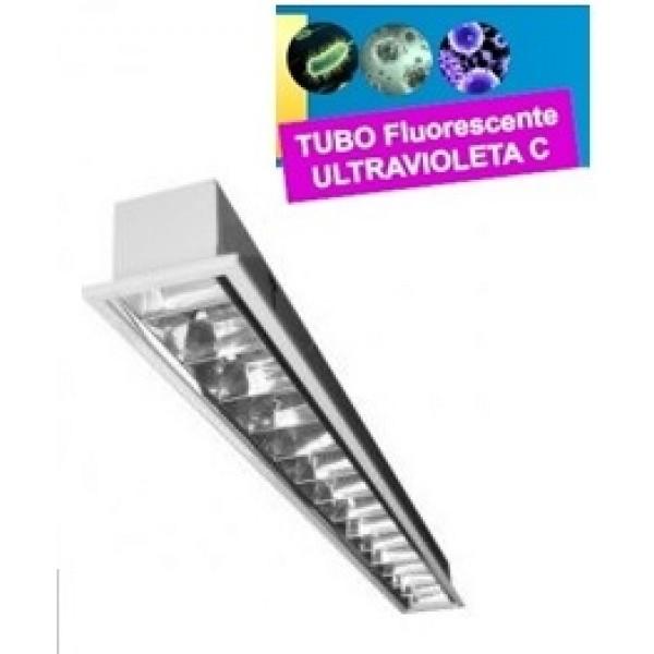 Luminaria Empotrar 1175x175mm 1x36W UV desinfectante