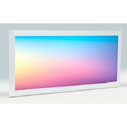 Panel LED 300X600mm 25W Marco Blanco RGB