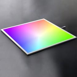 Panel LED 600X600mm 40W Marco Blanco RGB