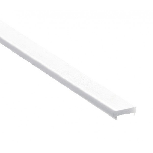 Difusor Glaseado para perfil aluminio anodizado Certificado, DG7, tira 2 mts.