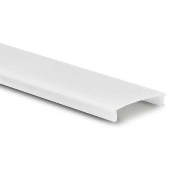 Difusor Opal para perfil PS1708, PE2308, PS1715, PE2315, PA1818, PR2117, PSC1531, barra 2 mts.