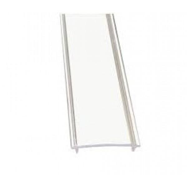 Disufor Transparente para Perfil Aluminio Superficie LINE, barra de 2 ó 3 Metros