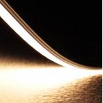 Perfil Aluminio Anodizado Superficie Flexible 18x6mm. para tiras LED, barra de 3 Metros, Plata ó Blanco -completo-