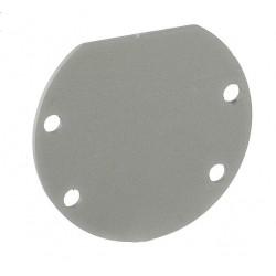 Tapa Final Aluminio para perfil redondo anodizado PR3939A