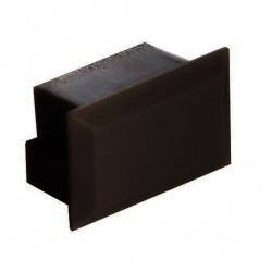 Tapa Final Negra para perfil anodizado PS2011AN, PE2812AN