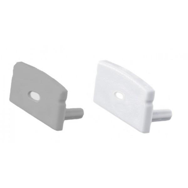 Tapa Final salida cable para perfil superficie PS1708