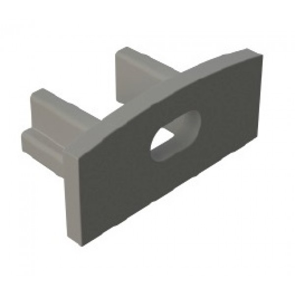 Tapa Final salida cable para Perfil Aluminio Superficie LINE PS1707P
