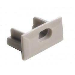 Tapa Final salida Cable para perfil anodizado PS1607A, PS1607AN, PE2108A, PE2108AN
