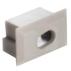 Tapa Final salida cable para perfil anodizado PS611A, PS1611AN, PE2412A, PE2412AN