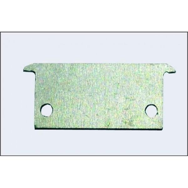 Tapa final para Perfil pisable aluminio anodizado Certificado