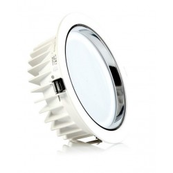 Downlight LED Redondo Técnico 24W, corte 200mm