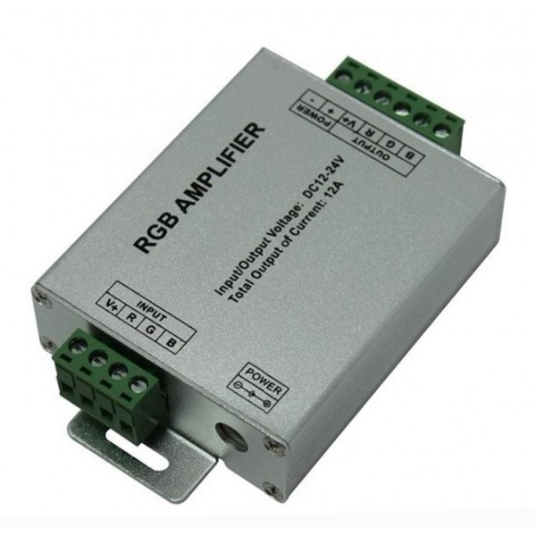 Amplificador para tira Led RGB 144W