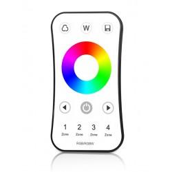 Mando R8 para controlador RGB, RGBW - RF 4 zonas 240-720W