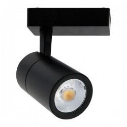 Foco Carril Monofásico LED COB 30W 24º-60º Negro