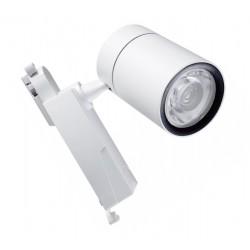 Foco Carril Monofásico LED COB 40W 24º-60º Blanco