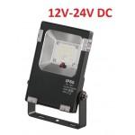 Foco LED exterior PRO 12V-24V DC 10W IP65 Gris
