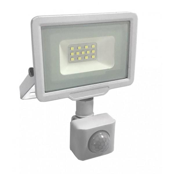 Foco Proyector LED exterior Slim Blanco NEOLINE City 10W IP65 SMD con detector de Movimiento