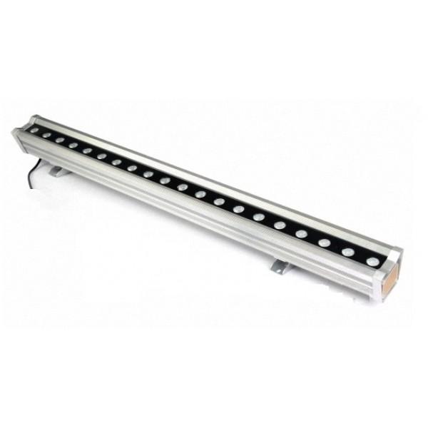 Foco LED exterior bañador pared lineal 36W 965mm, controlador DMX incluido