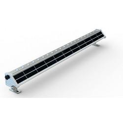 Foco LED exterior bañador pared lineal 20W 1020mm SOLAR