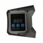 Foco LED exterior bañador pared lineal 20W 590mm, controlador DMX incluido