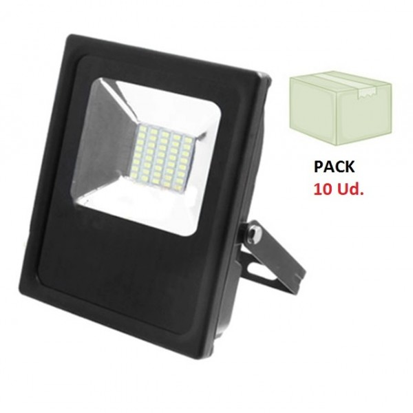 Foco LED exterior SLIM 10W IP65 SMD P10