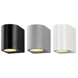 Aplique LED exterior IP44 superficie pared R 1xGU10