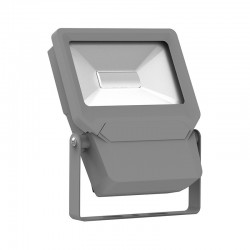 Foco Proyector LED exterior Slim Gris NEO ENERGY 10W IP65 SMD