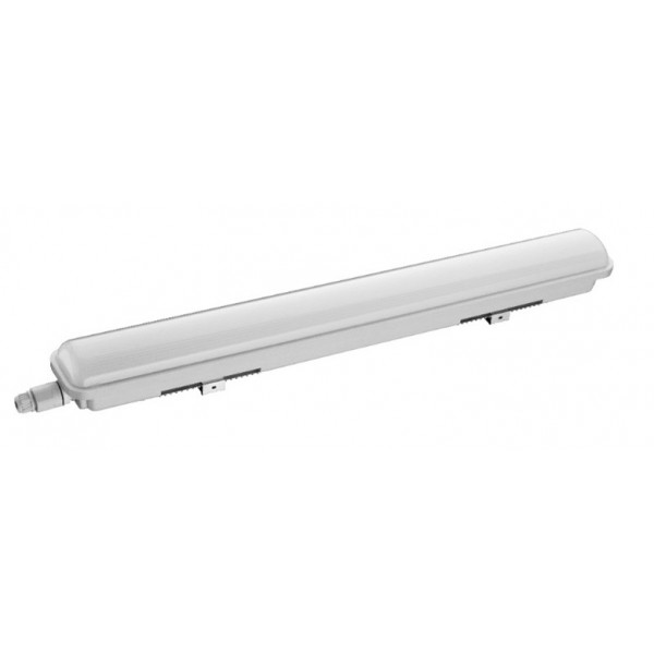 Pantalla estanca IP65 PC compacta LED ECO de 600mm 24W 2040Lm