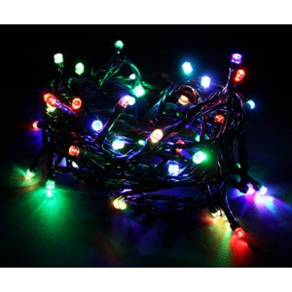 Guirnalda LED RGB 50pc 5mts Transformador