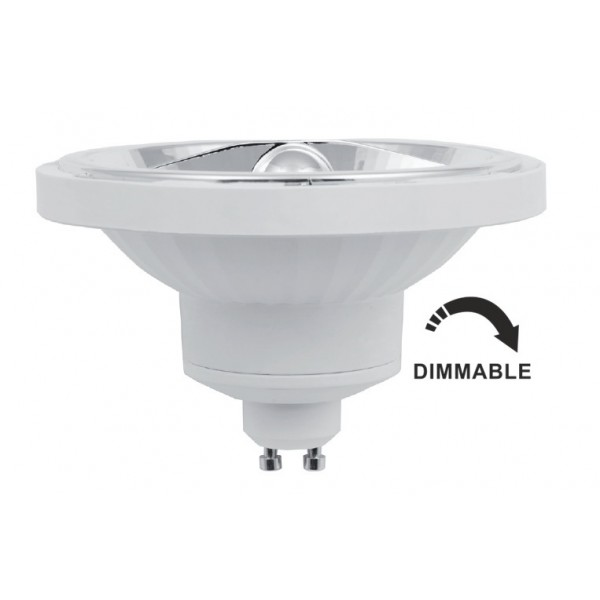 Lámpara LED AR111 GU10 14W 24º 1140lm CRI90 Regulable