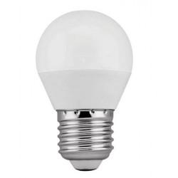 Lámpara LED Esferica E27 9W Opal