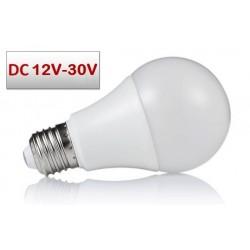 Lámpara LED Standard A60 E27 12V-30V DC 9W