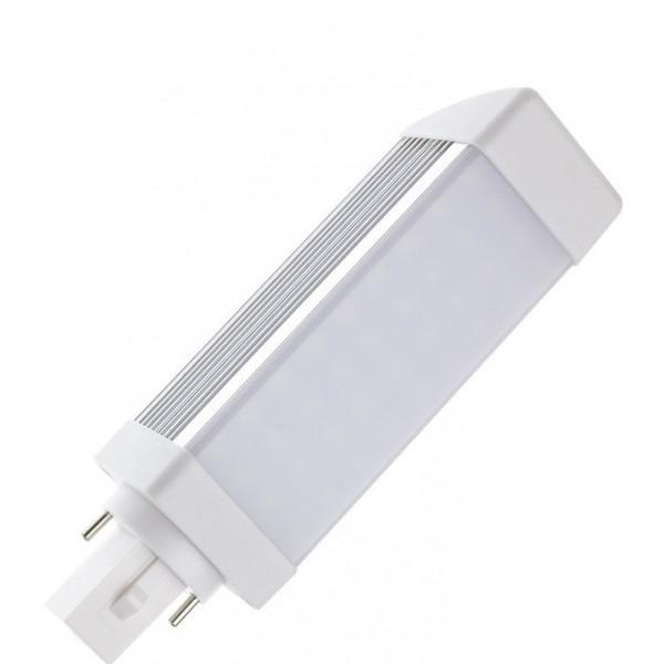 Lámpara LED PL G24 Opal 700LM 7W SMD2835