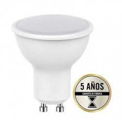 Lámpara LED GU10 SMD 5W 110º