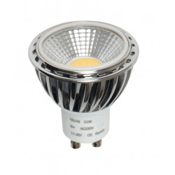 Lámpara LED GU10 COB 5W, Regulable