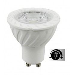 Lámpara LED GU10 SMD 5W 80º Regulable