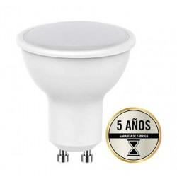 Lámpara LED GU10 SMD 7W 110º