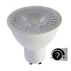 Lámpara LED GU10 SMD 7W 38º Regulable