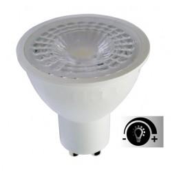 Lámpara LED GU10 SMD 7W 38º Regulable