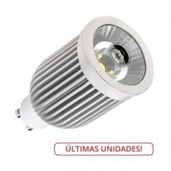 Lámpara LED GU10 COB 9W 60º