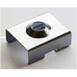 Grapa sujeción para perfil aluminio anodizado certificado PS1611A, PS1611AN PE2412A, PE2412AN, PR1916A, PR1916AN