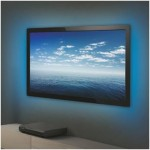 Tira LED Flexible RGB  2x50cm con mando para televisor TV -Kit-