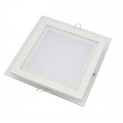 Downlight panel LED Cuadrado 200x200mm Cristal 16W