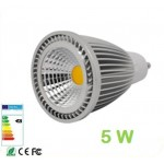 Lámpara LED GU10 COB 5W 60º