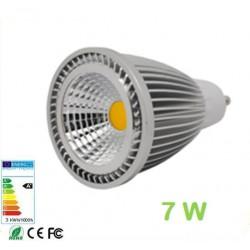 Lámpara LED GU10 COB 7W 60º
